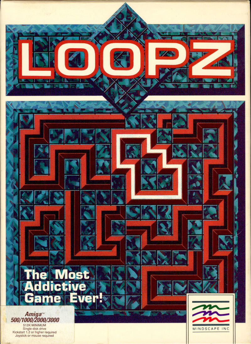 Loopz Amiga Front Cover