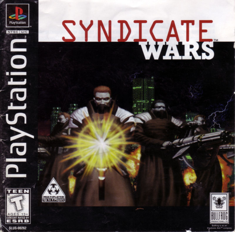 Syndicate Wars PlayStation Front Cover