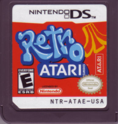Retro Atari Classics Nintendo DS Media