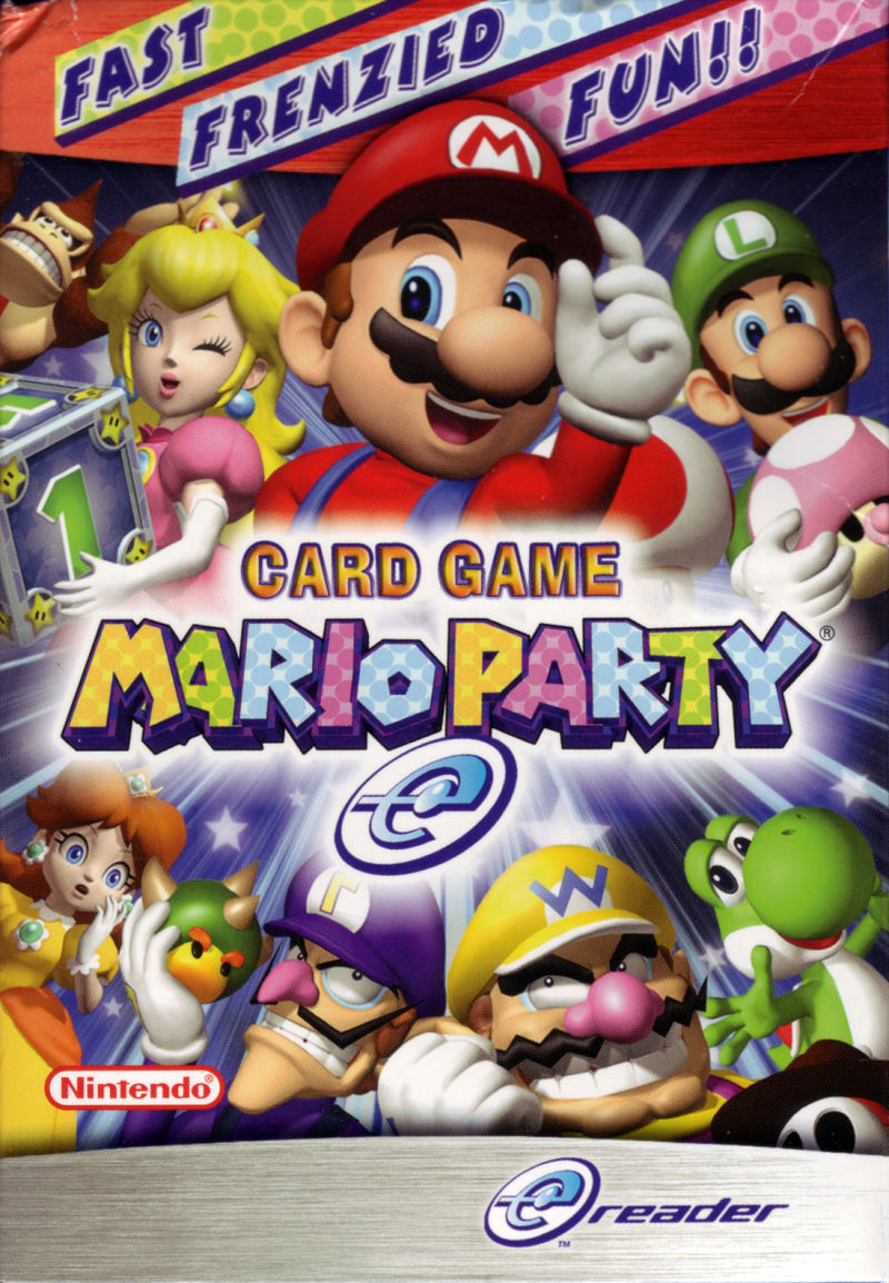 Mario Party-e Game Boy Advance Front Cover