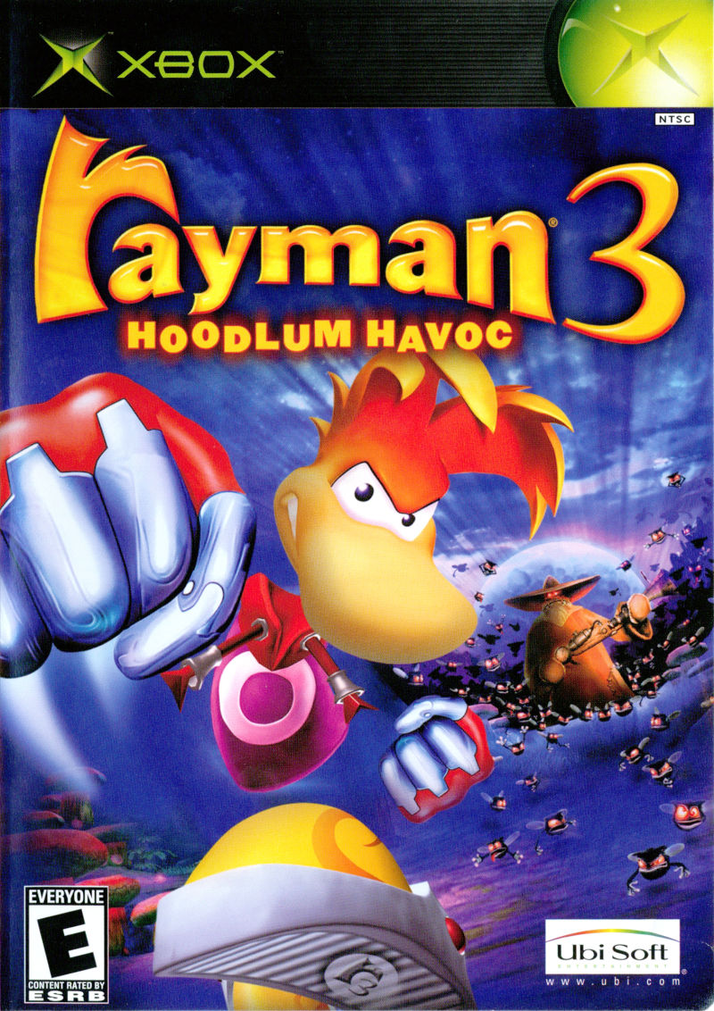 Book Cover Pictures Xbox : Rayman hoodlum havoc for xbox mobygames