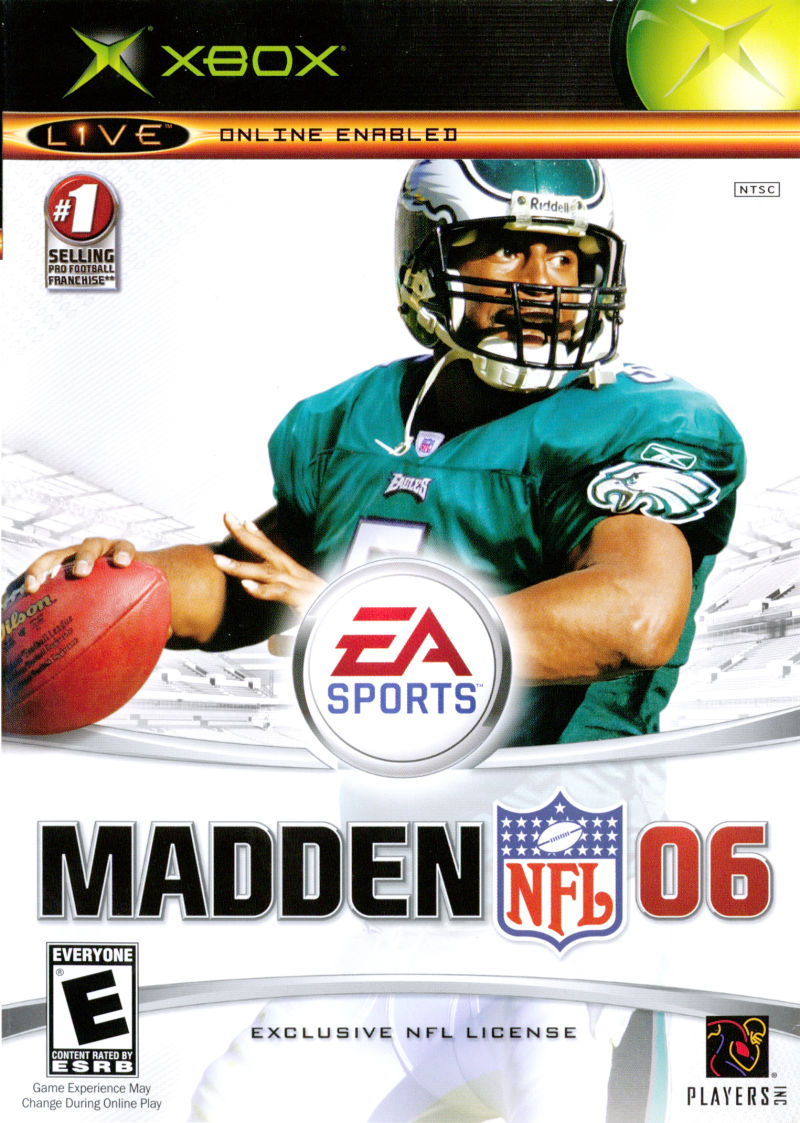Madden nfl 06 for xbox (2005) mobyrank mobygames.