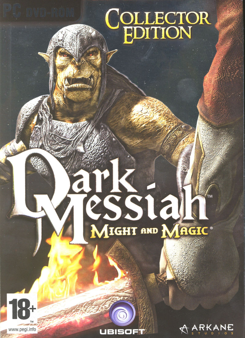 Dark Messiah: Might and Magic (Collector Edition) Windows Front Cover