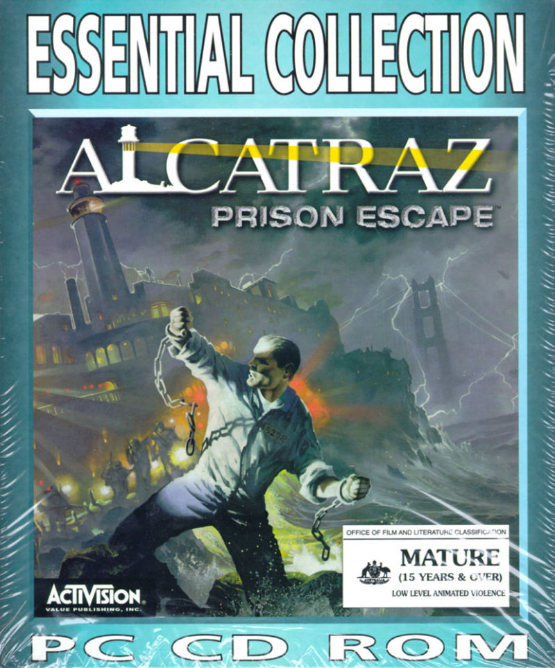 Alcatraz: Prison Escape Windows Front Cover