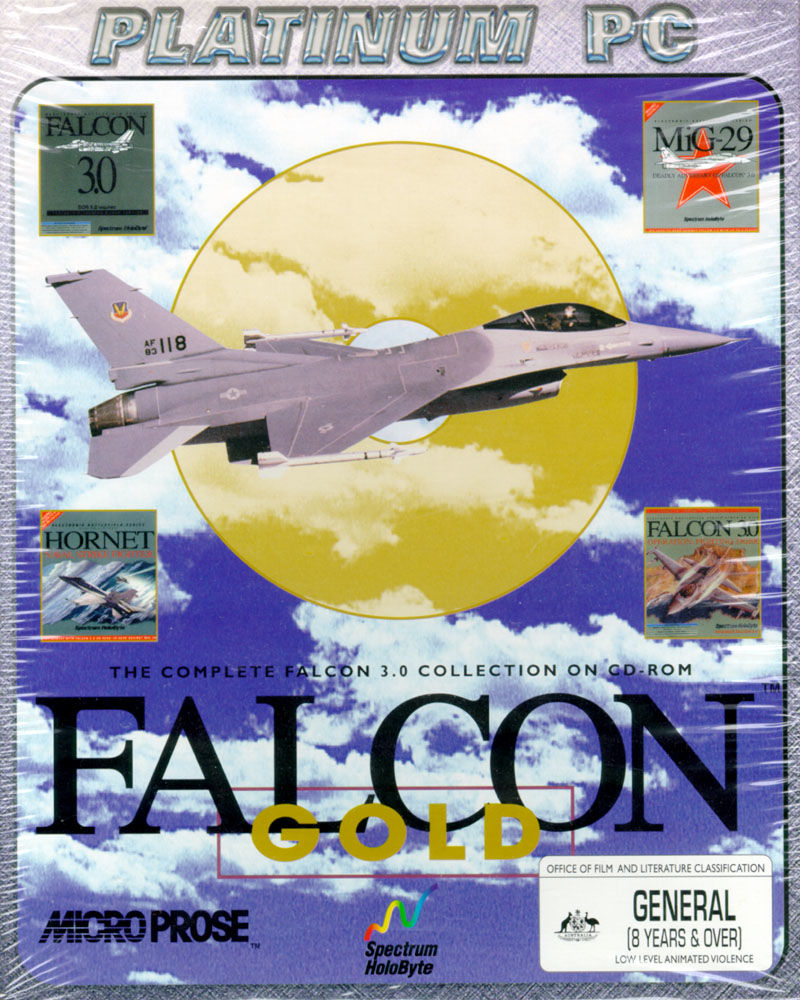 Falcon Gold DOS Front Cover