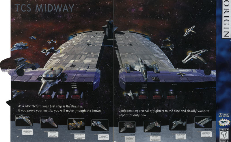 Wing Commander: Prophecy Windows Inside Cover