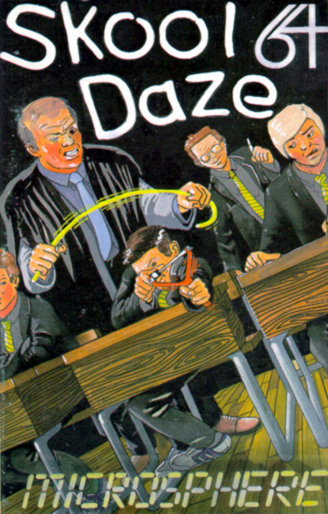 Skool Daze Commodore 64 Front Cover
