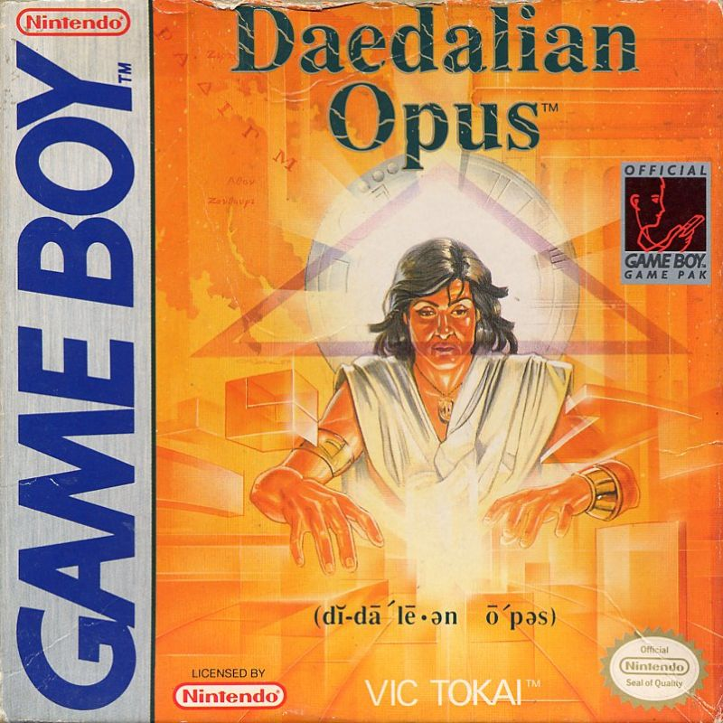 Daedalian Opus Game Boy Front Cover