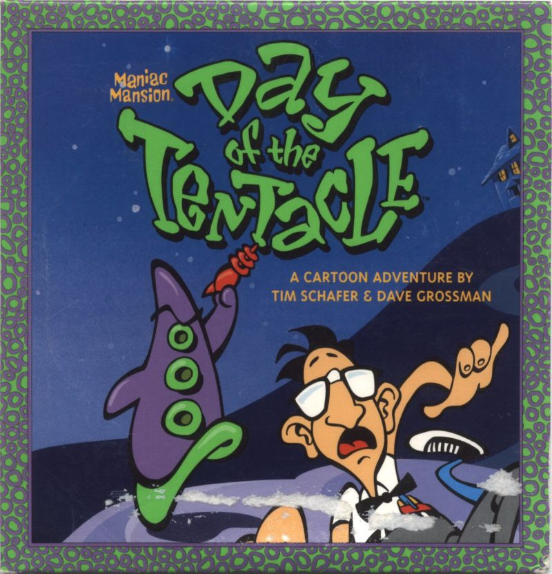 Maniac Mansion: Day of the Tentacle Macintosh Front Cover