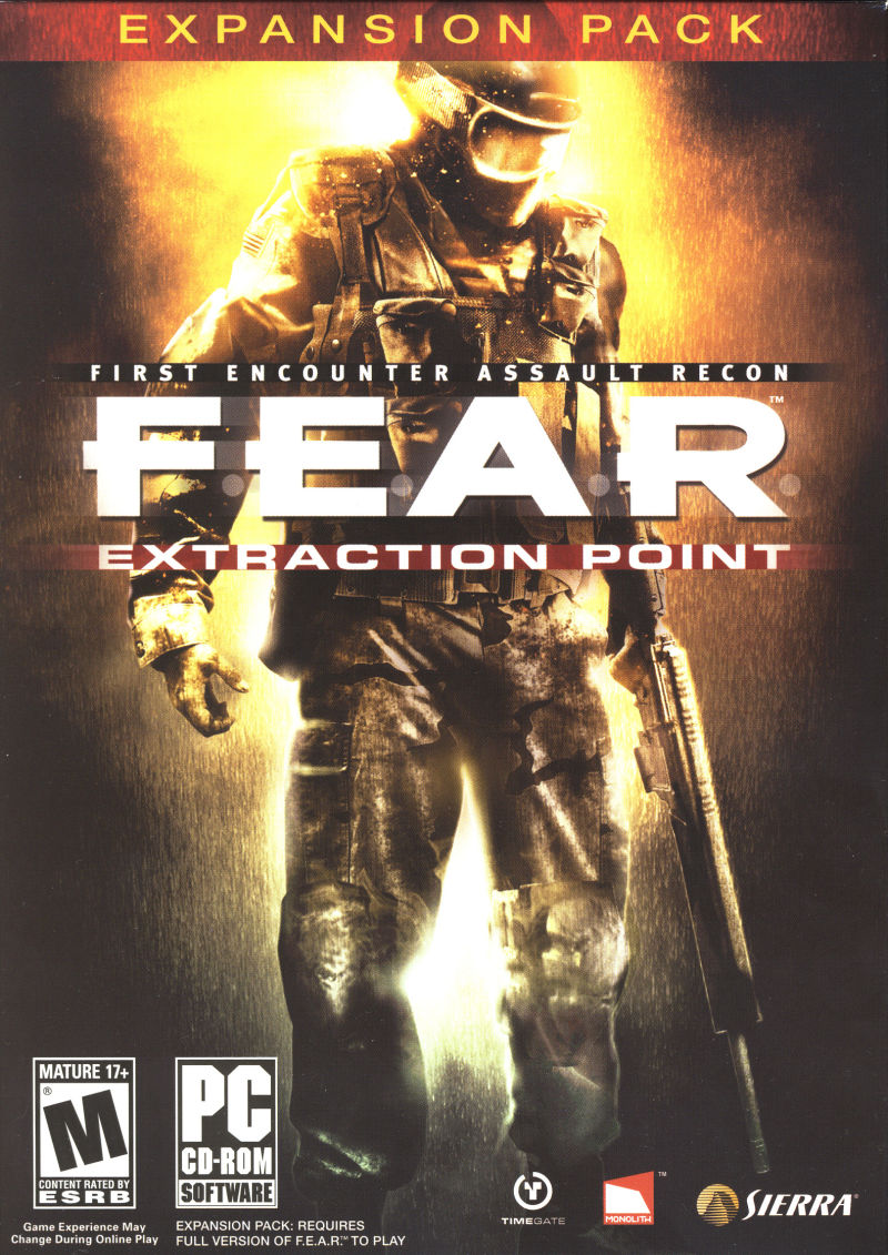 F.E.A.R.: Extraction Point Windows Front Cover