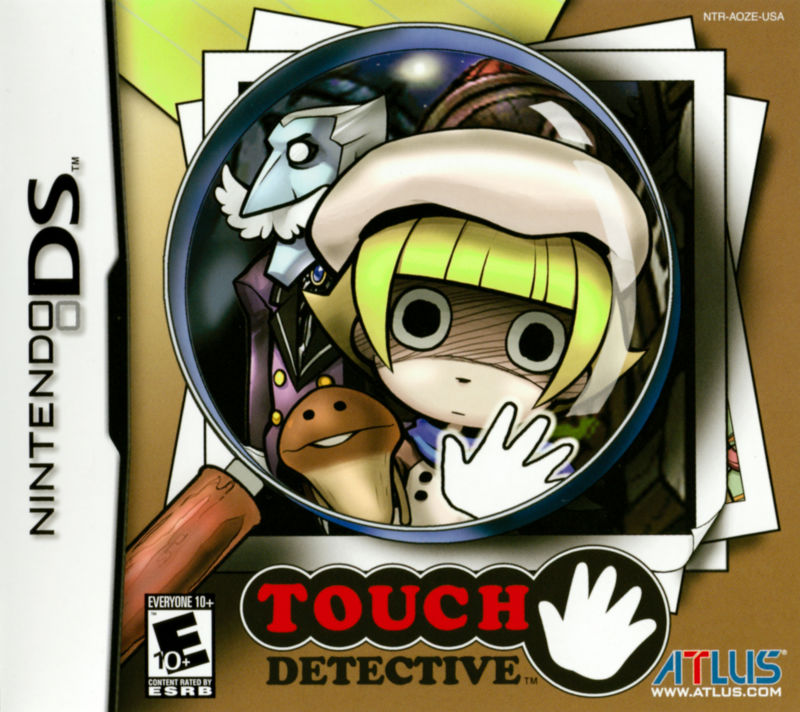 Touch Detective Nintendo DS Front Cover