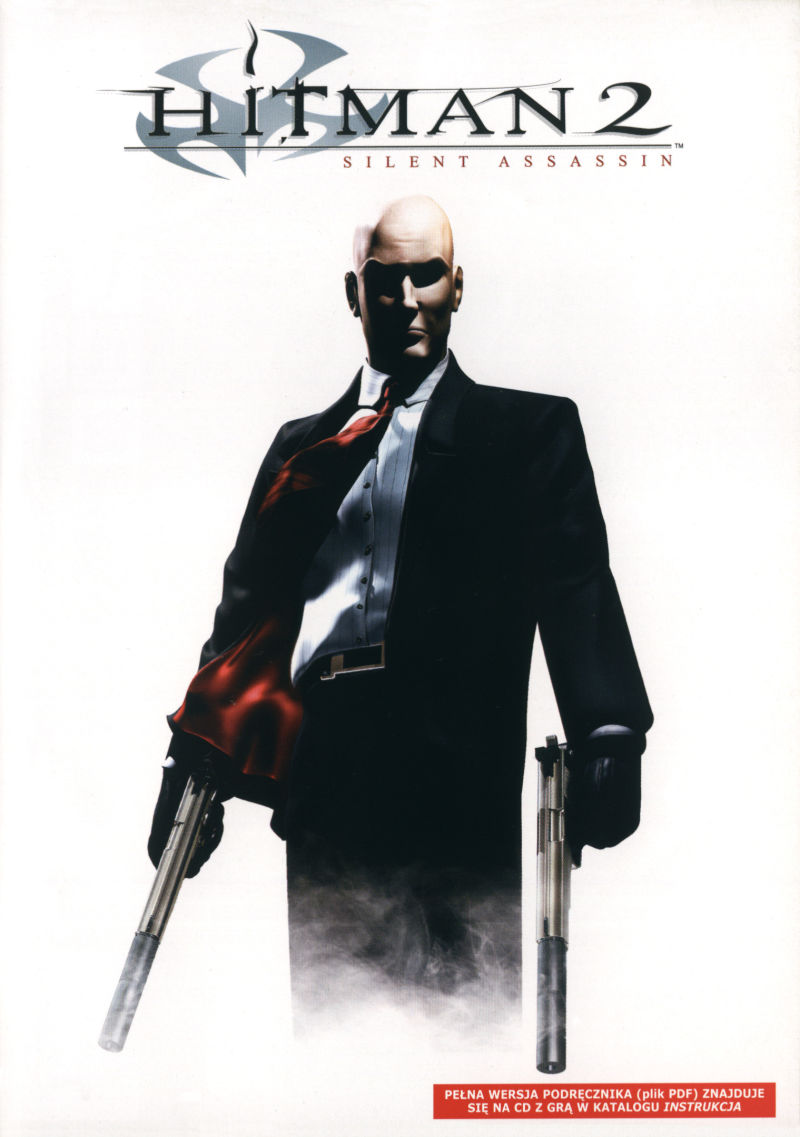 Hitman 2: Silent Assassin Windows Inside Cover Right Inlay