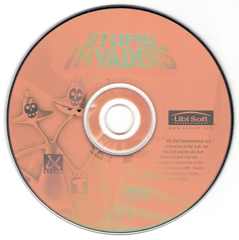 Stupid Invaders Windows Media Disc 2