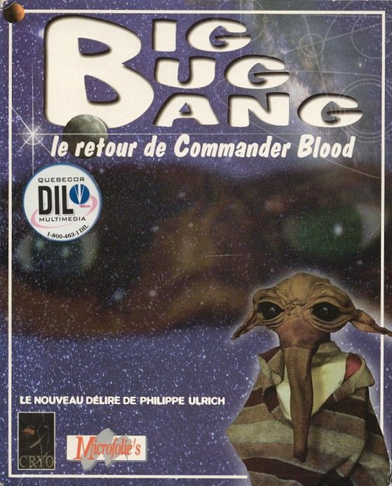 Big Bug Bang: Le Retour de Commander Blood DOS Front Cover