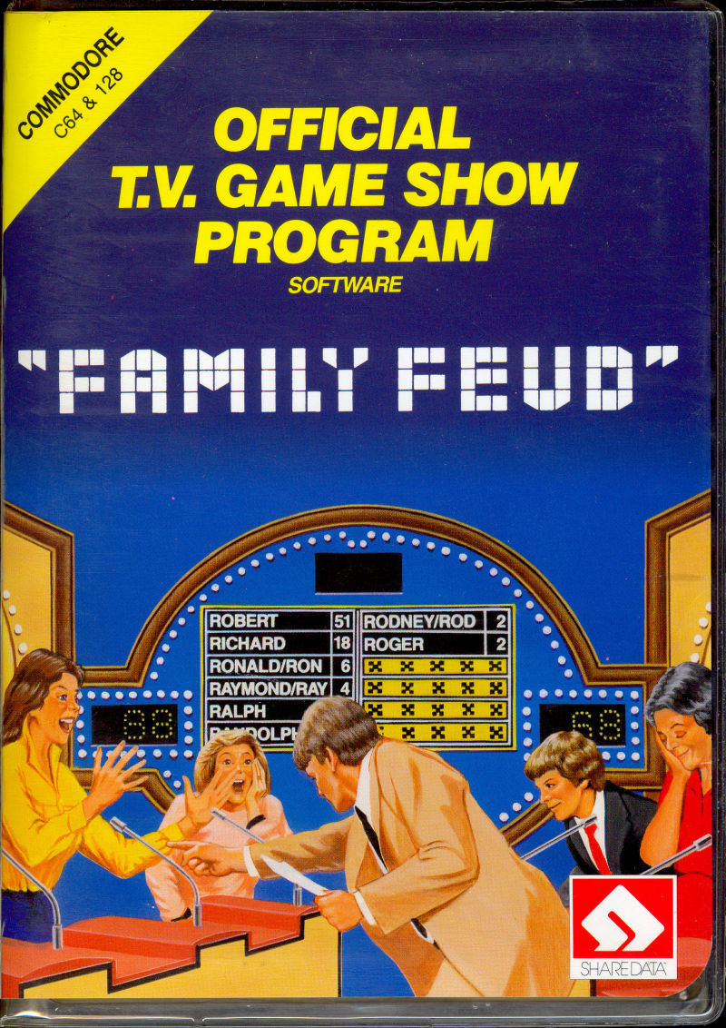 Family Feud (1987) Apple II box cover art - MobyGames