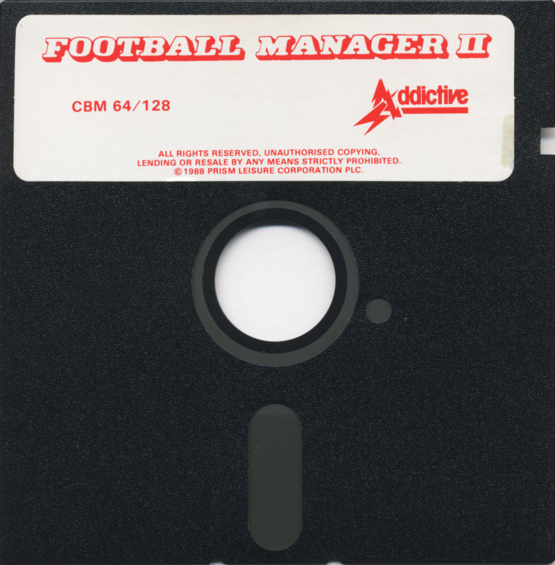 Football Manager 2 Commodore 64 Media