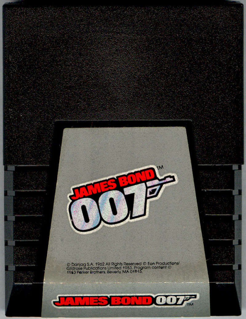 James Bond 007 Commodore 64 Media