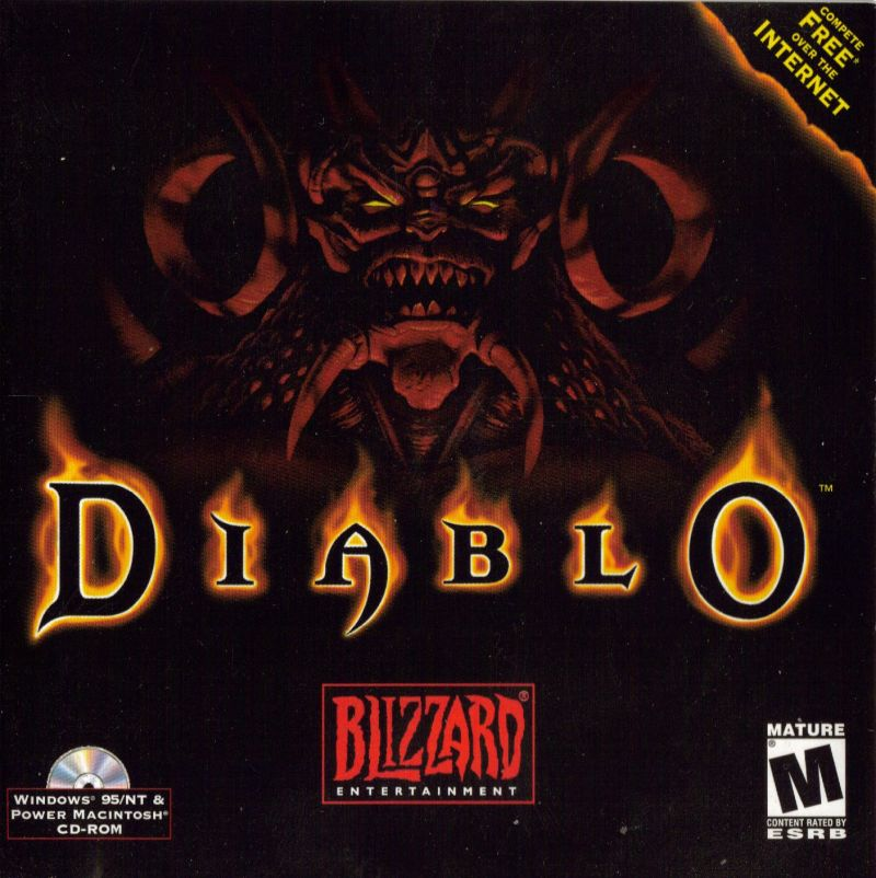 Diablo Macintosh Other Jewel Case - Front