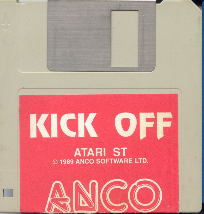 Kick Off Atari ST Media
