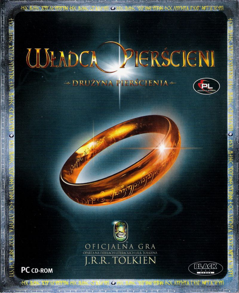 The Lord of the Rings: The Fellowship of the Ring Windows Front Cover
