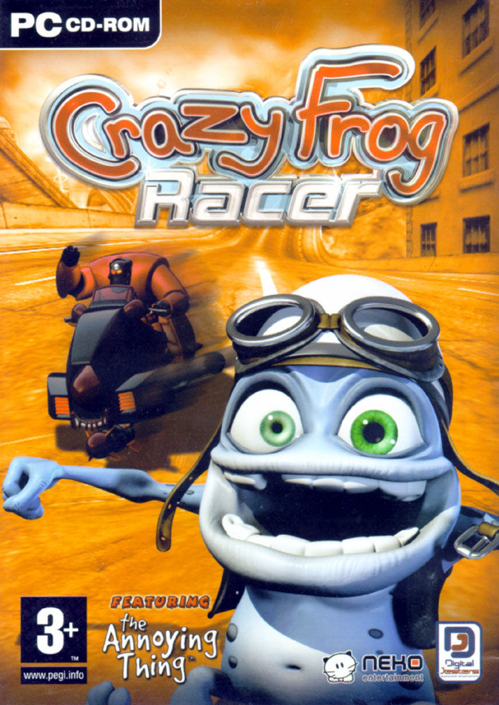 Crazy Frog Racer Windows Front Cover