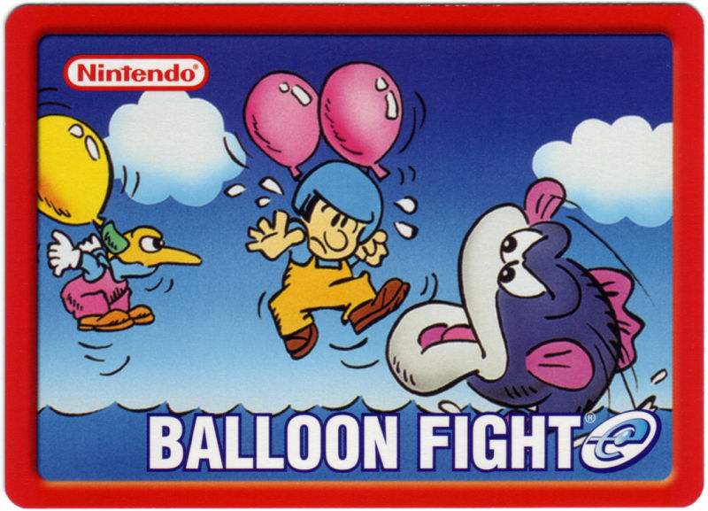 Balloon Fight Game Boy Advance Media e-Card 1 - Front