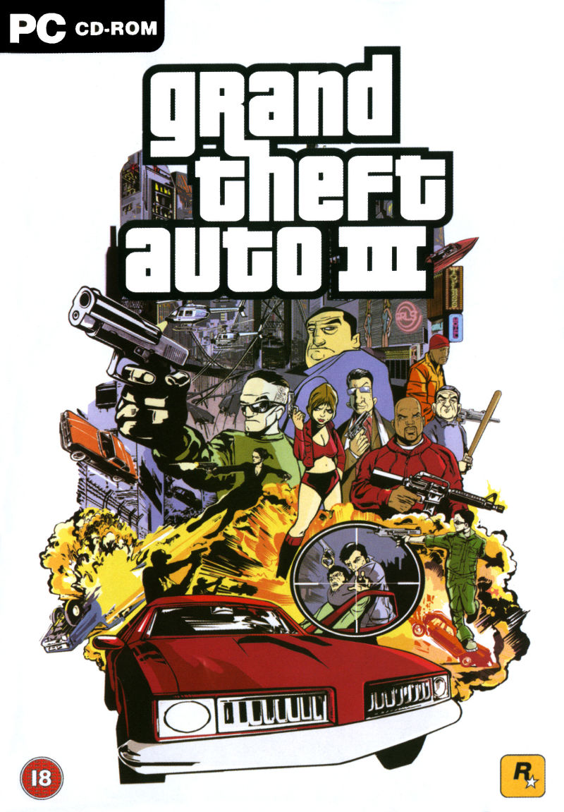 Grand Theft Auto III Windows Other Keep Case - Front