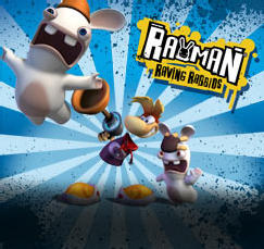 Rayman Raving Rabbids J2ME Front Cover