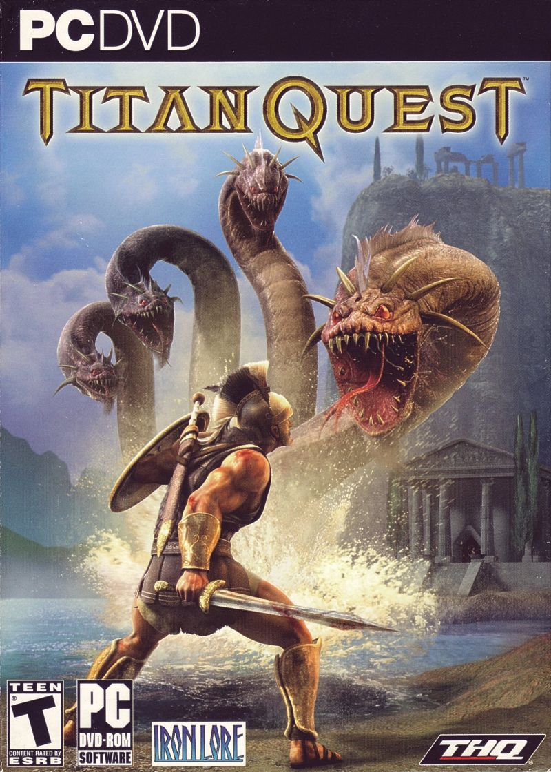 Titan Quest Windows Front Cover