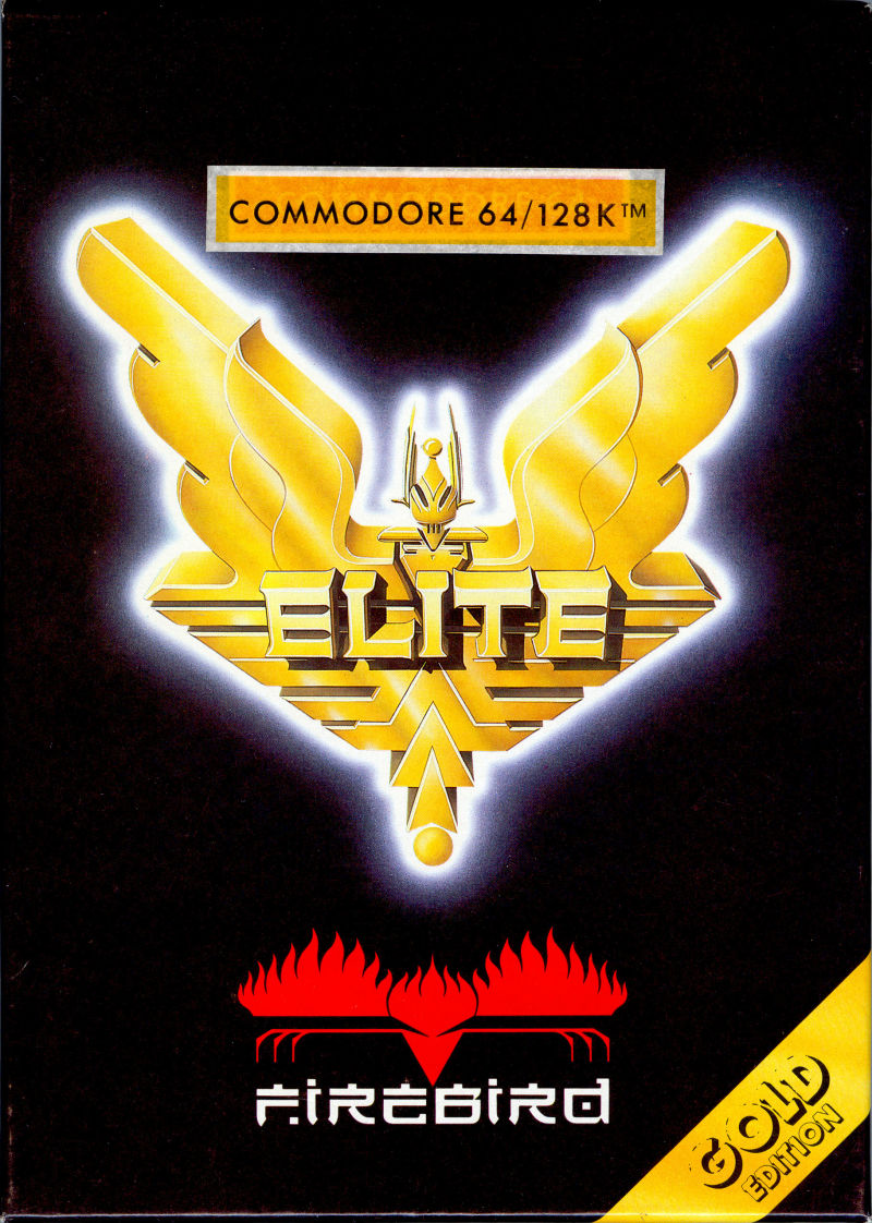 Elite Commodore 64 Front Cover