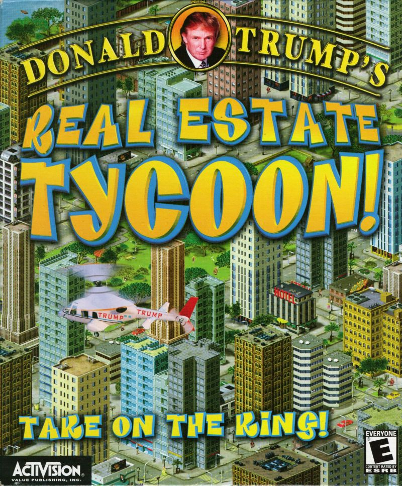 Donald Trump's Real Estate Tycoon! Windows Front Cover