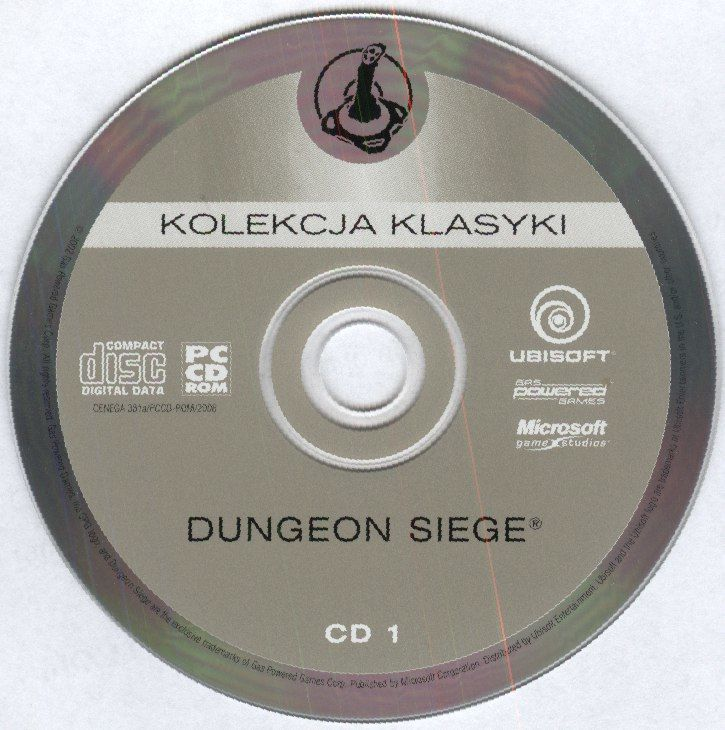 Dungeon Siege Windows Media Disc 1/3
