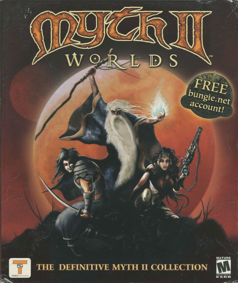 Myth II Worlds Macintosh Front Cover