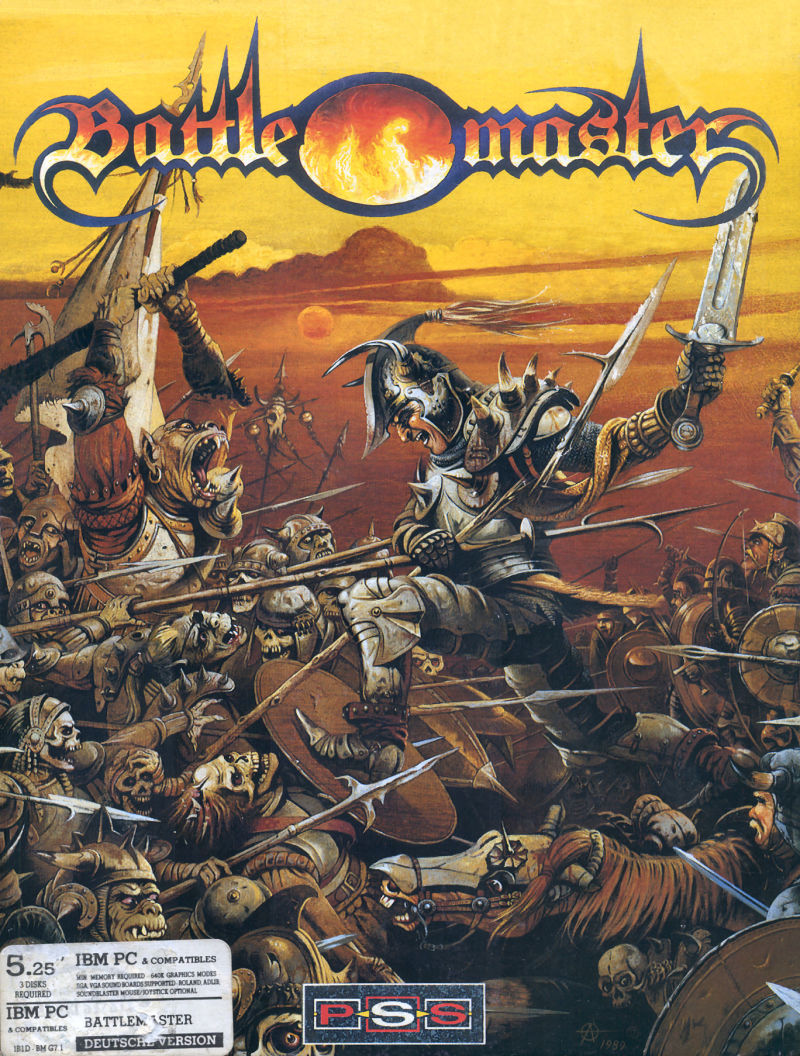 Battle Master DOS Front Cover