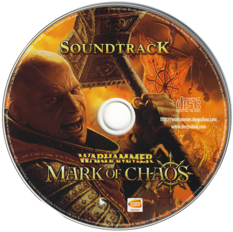 Warhammer: Mark of Chaos (Collector's Edition) Windows Media Soundtrack Disc