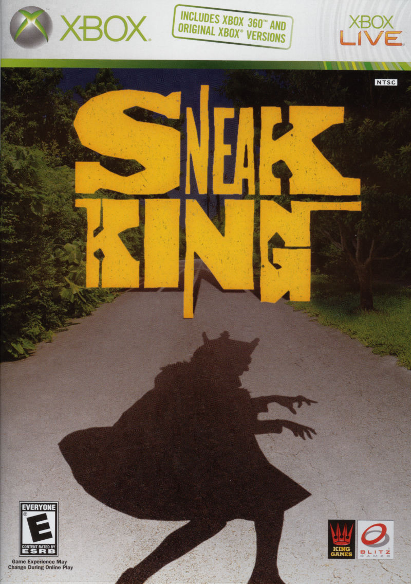 Sneak King Xbox Front Cover
