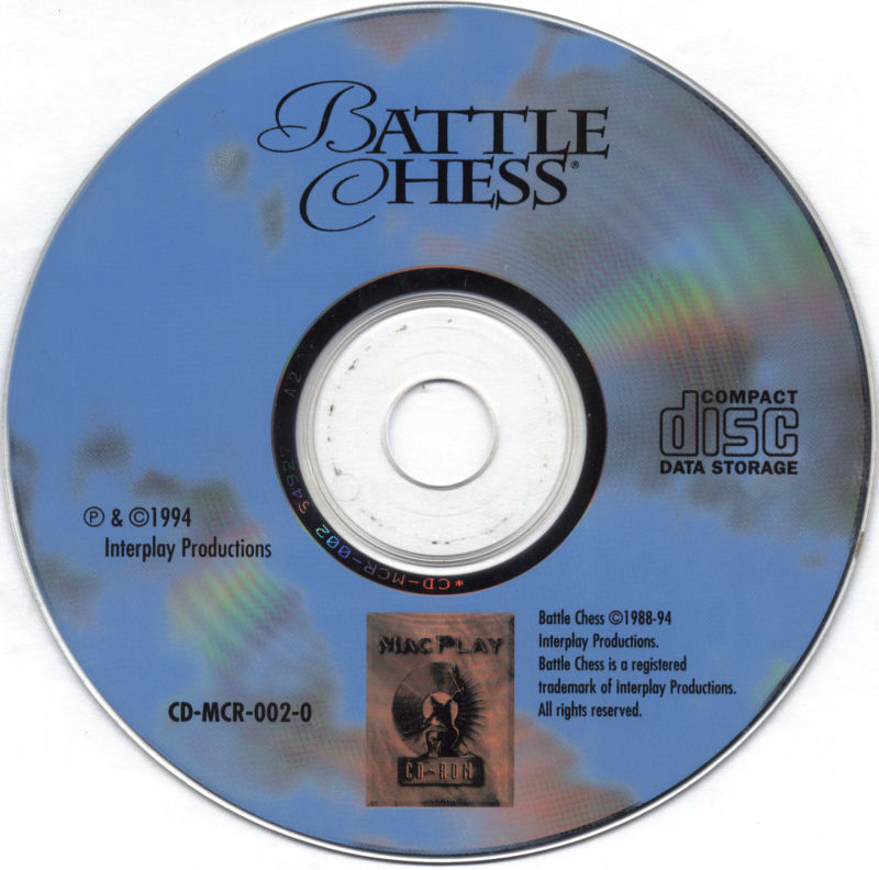 Battle Chess: Enhanced CD ROM Macintosh Media