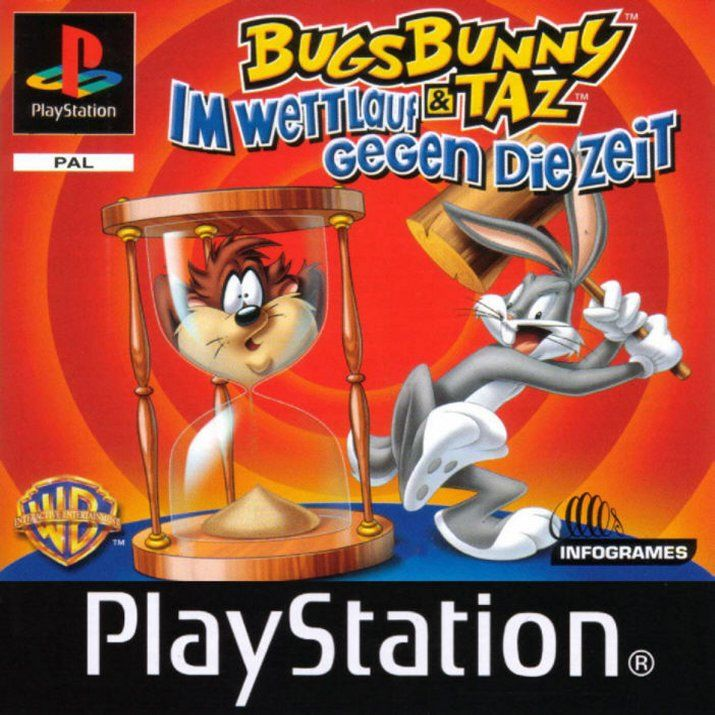 Bugs Bunny & Taz: Time Busters PlayStation Front Cover