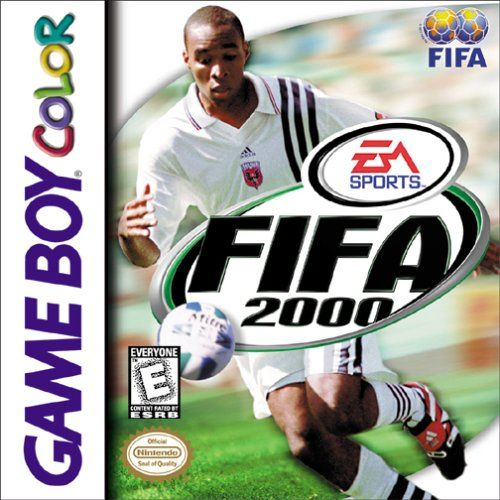 FIFA 2000 Game Boy Color Front Cover