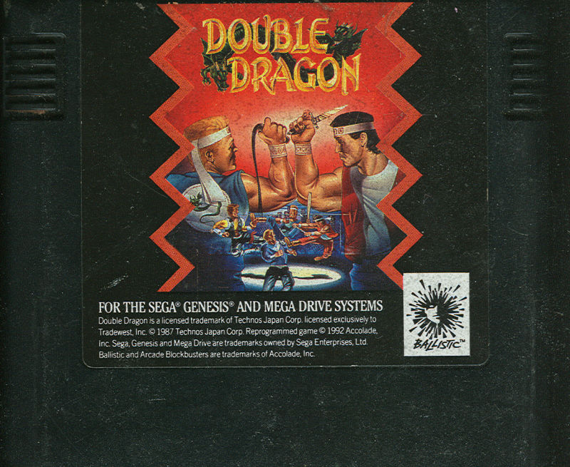 Double Dragon Genesis Media