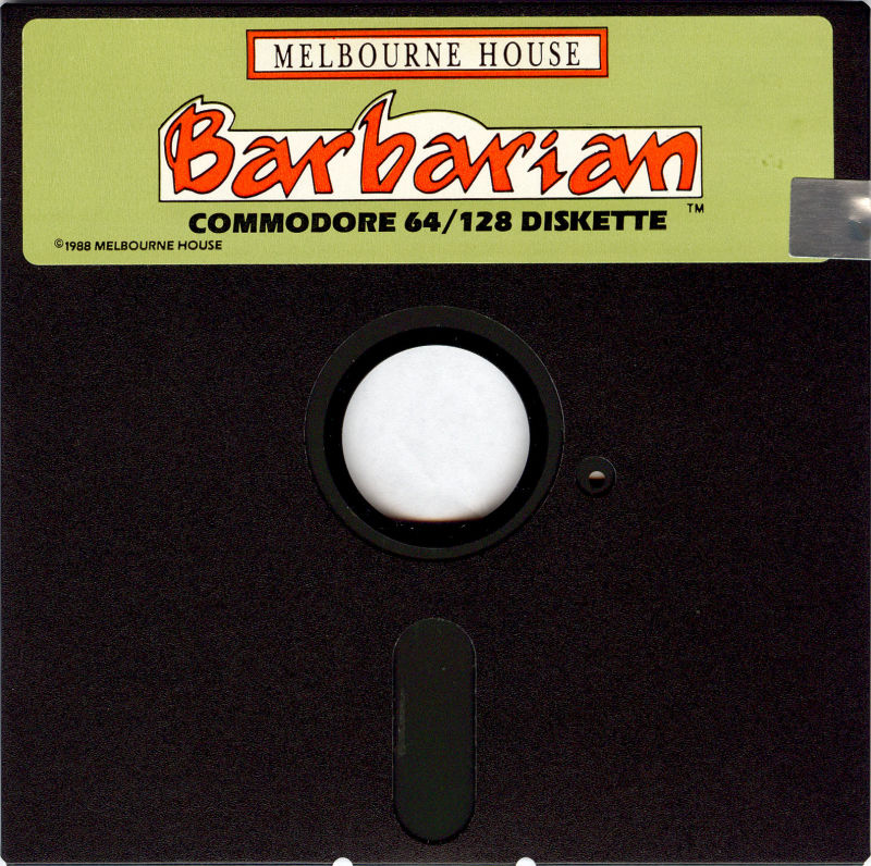 Barbarian Commodore 64 Media