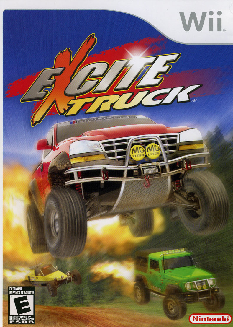 Excite Truck Wii Front Cover