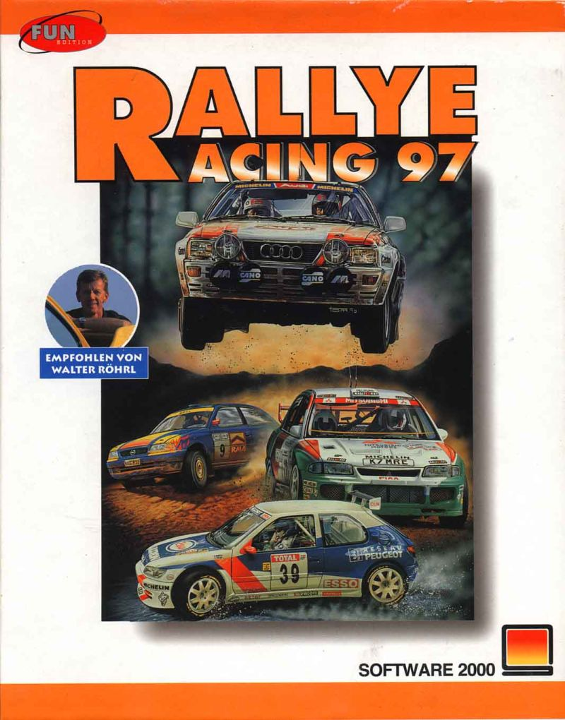 Network Q RAC Rally Championship DOS Front Cover