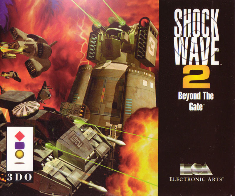 Shock Wave 2: Beyond the Gate 3DO Front Cover