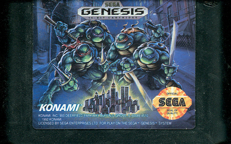 Teenage Mutant Ninja Turtles: The Hyperstone Heist Genesis Media