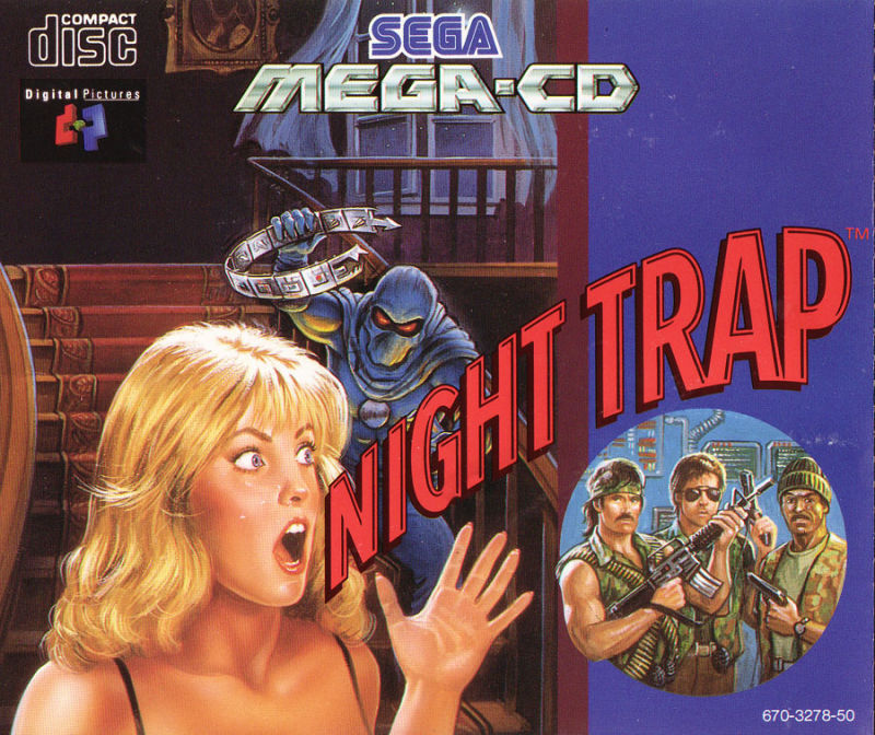 night trap 1994 3do box cover art mobygames