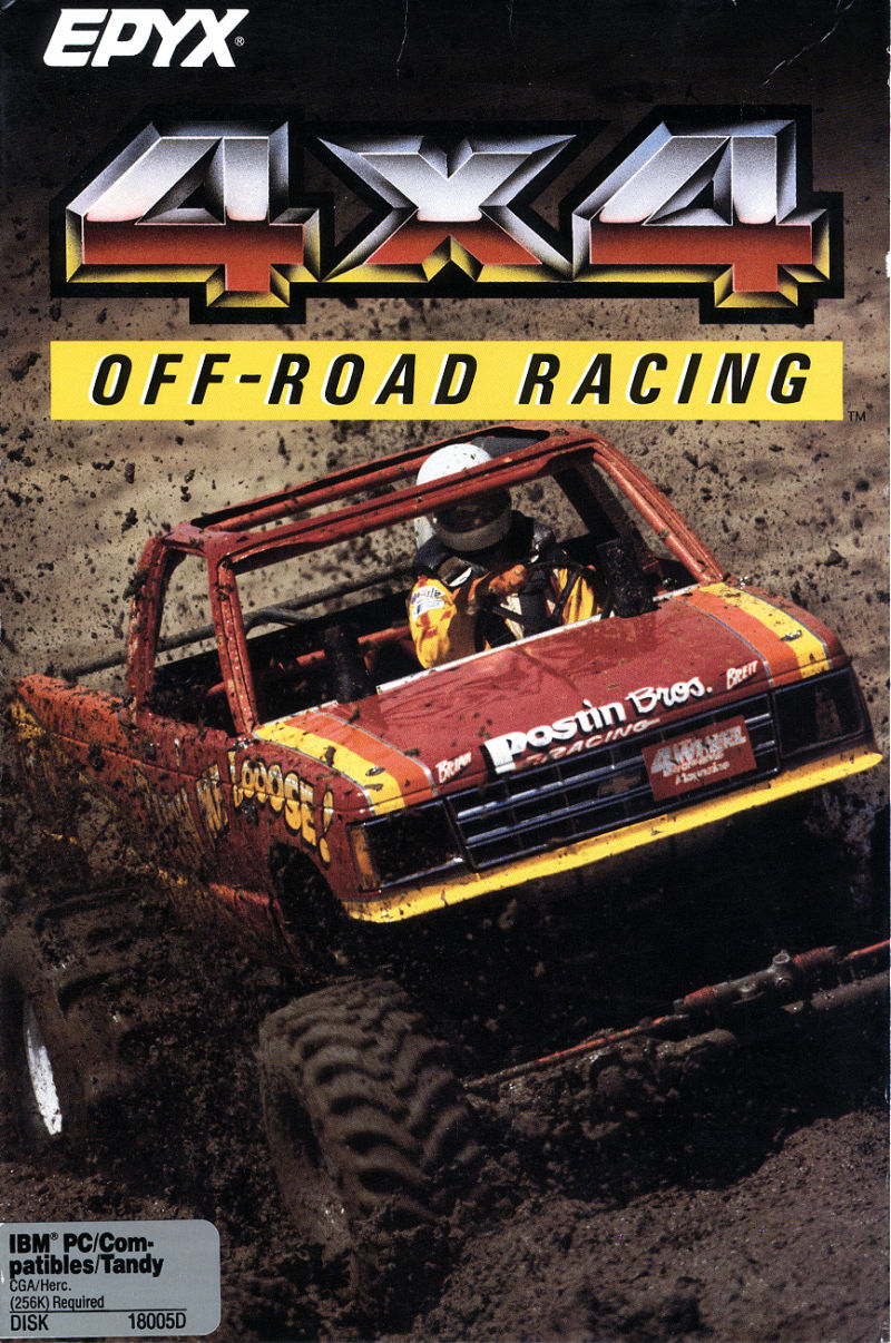 4x4 Off-Road Racing DOS Front Cover