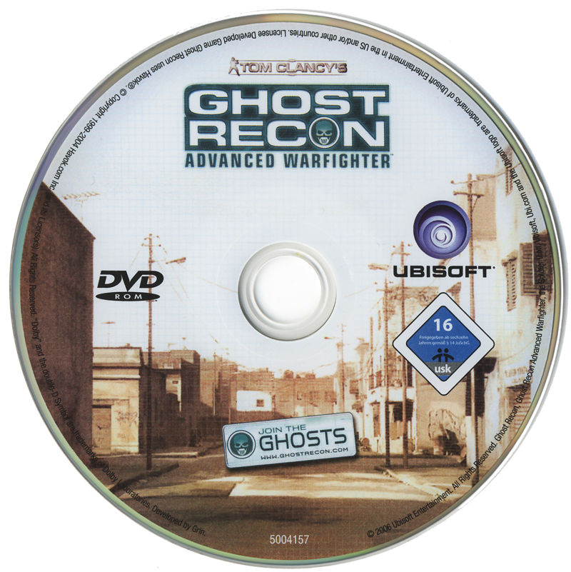 Tom Clancy's Ghost Recon: Advanced Warfighter Windows Media