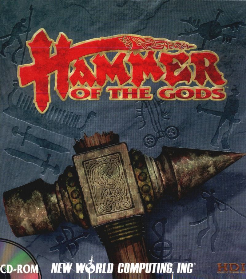 Hammer of the Gods DOS Front Cover