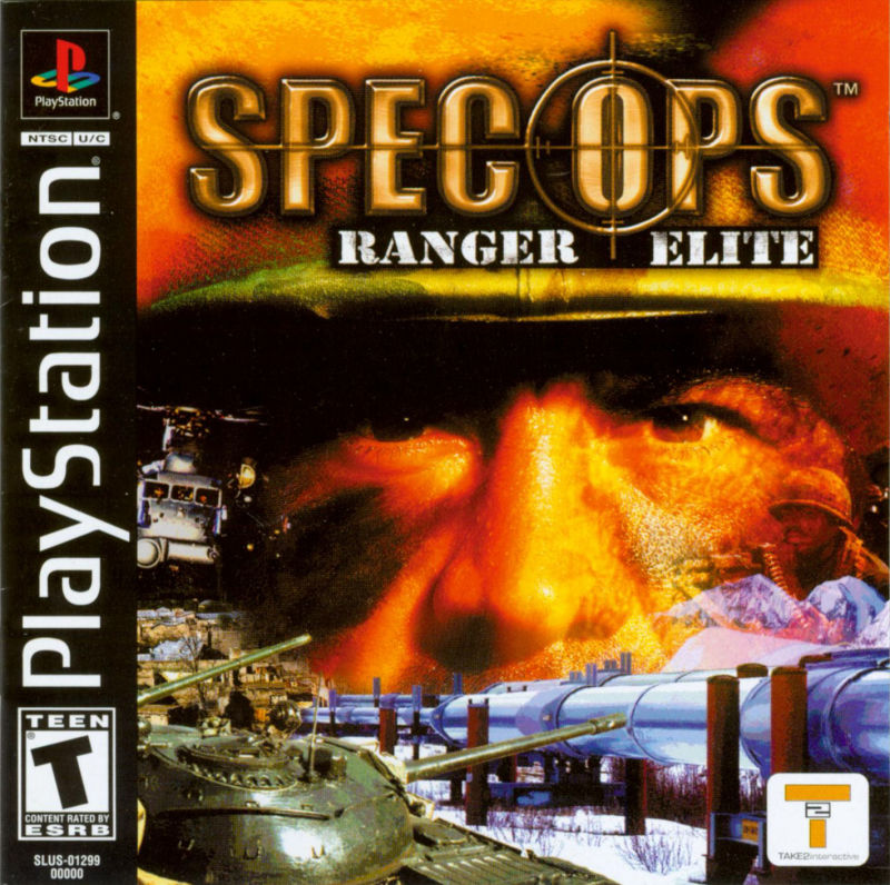 Spec Ops: Ranger Elite PlayStation Front Cover